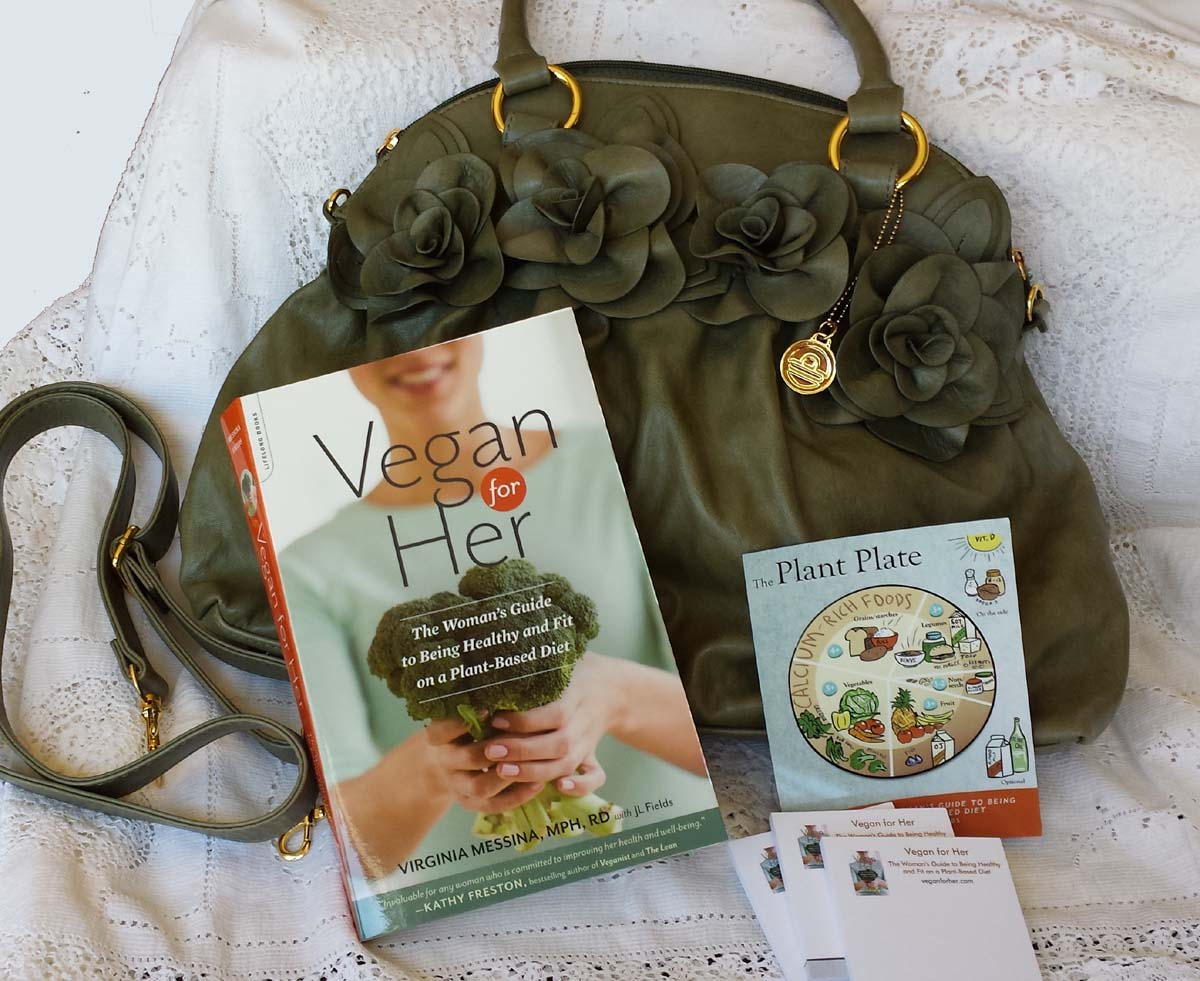 Win A Copy Of Vegan For Her And Big Buddha Bag