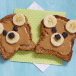 peanut butter on toast for kids